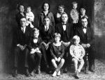 Adolph and Elise Eckermann family (ca 1929)