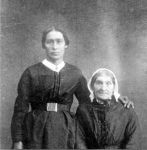 Ulrike Trebess and her mother Justine Carras